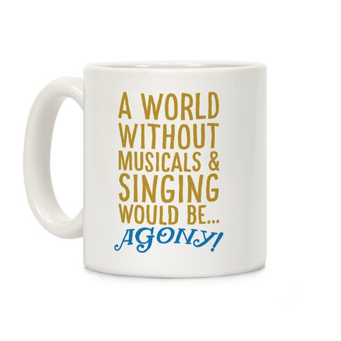 Agony Into The Woods Parody Coffee Mug