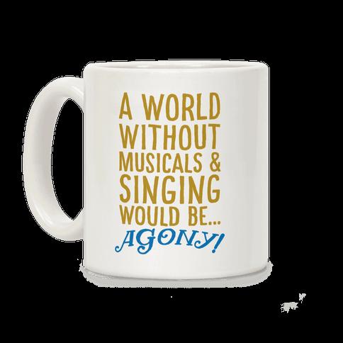 Agony Into The Woods Parody Coffee Mug