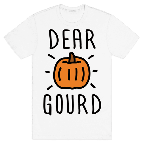 Dear Gourd Mens T-Shirt
