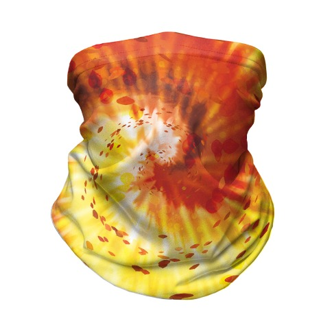 Autumn Tie Dye Neck Gaiter