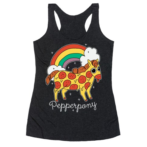 Pepperpony Racerback Tank Top