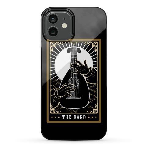 The Bard Tarot Card Phone Case