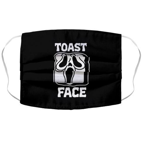 Toast Face Accordion Face Mask