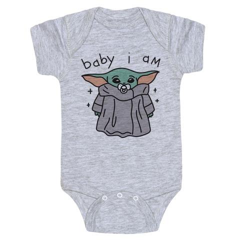 Baby I Am (Yoda) Baby Onesy