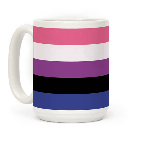 Gender Fluid Pride Flag Coffee Mug
