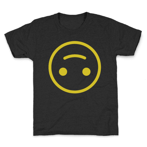 Upside-down Smiley Kids T-Shirt