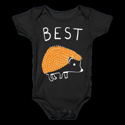 Best Buds Hedgehog Baby Onesy