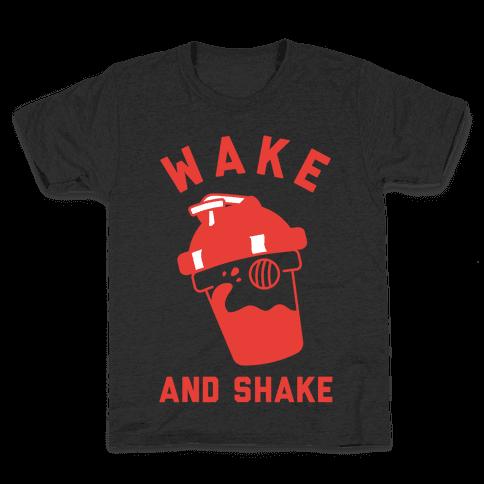 Wake And Shake Kids T-Shirt