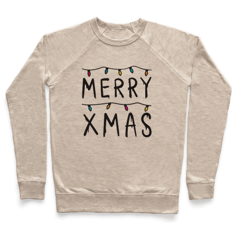 Merry Xmas Things Pullover