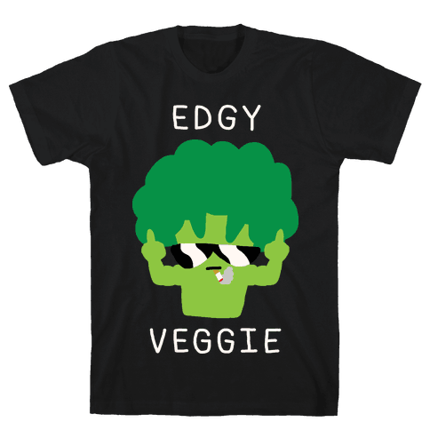 Edgy Veggie Mens T-Shirt