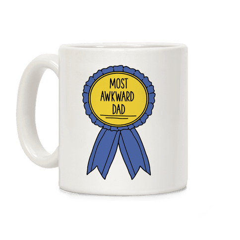 Most Awkward Dad Coffee Mug