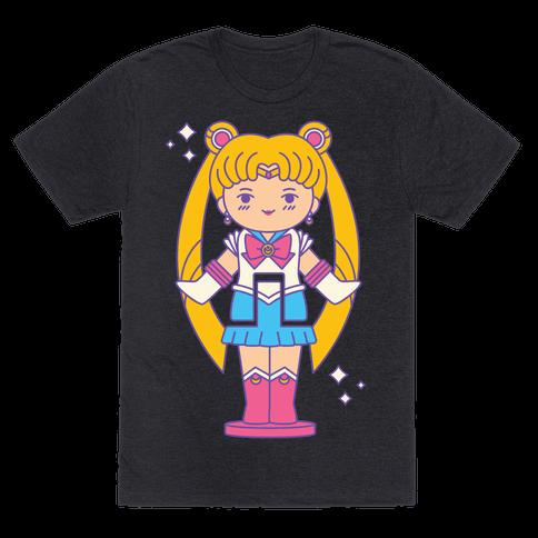 Sailor Moon Pocket Parody Mens/Unisex T-Shirt