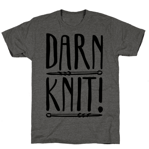 Darn Knit  Mens T-Shirt