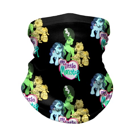 My Little Monster Pony Neck Gaiter