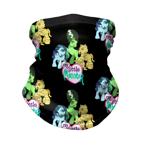 My Little Monster Pony Neck Gaiter