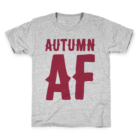 Autumn Af Kids T-Shirt