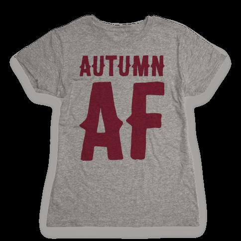 Autumn Af Womens T-Shirt
