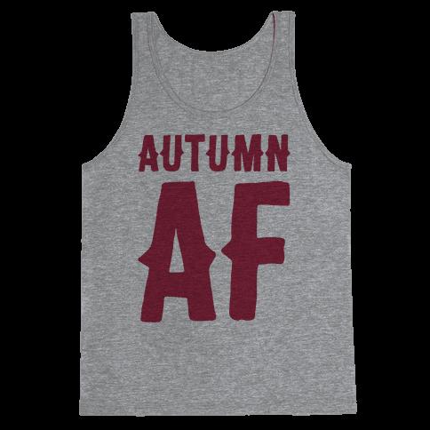 Autumn Af Tank Top
