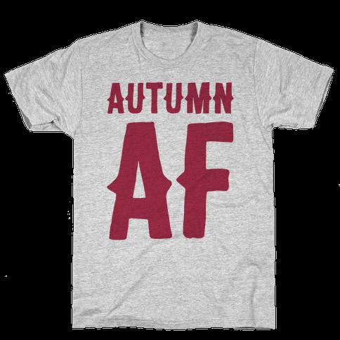 Autumn Af Mens T-Shirt