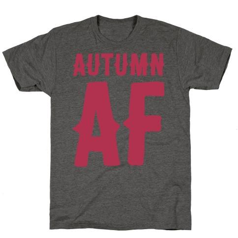 Autumn Af Mens/Unisex T-Shirt