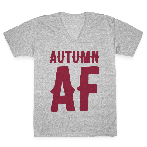 Autumn Af V-Neck Tee Shirt