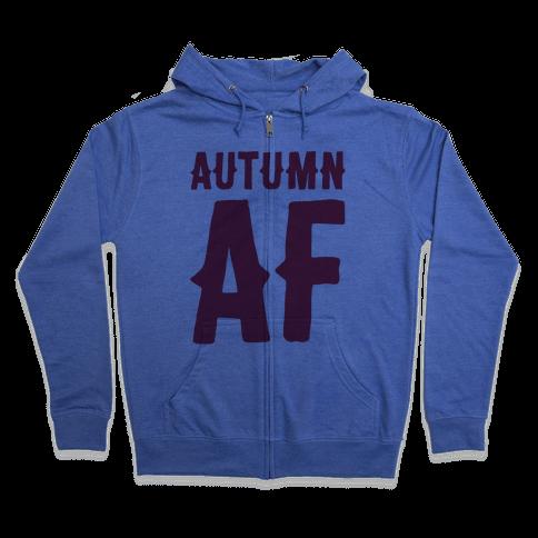 Autumn Af Zip Hoodie