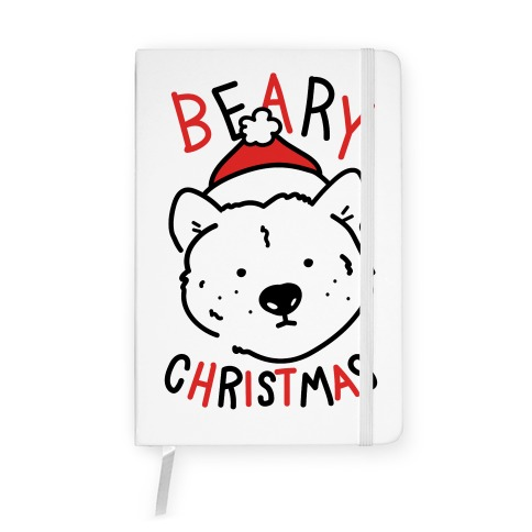 Beary Christmas Notebook