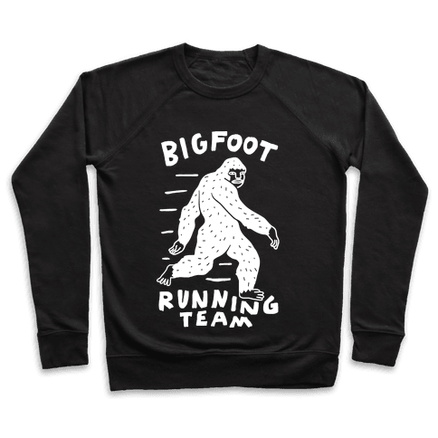 Bigfoot Running Team Pullover