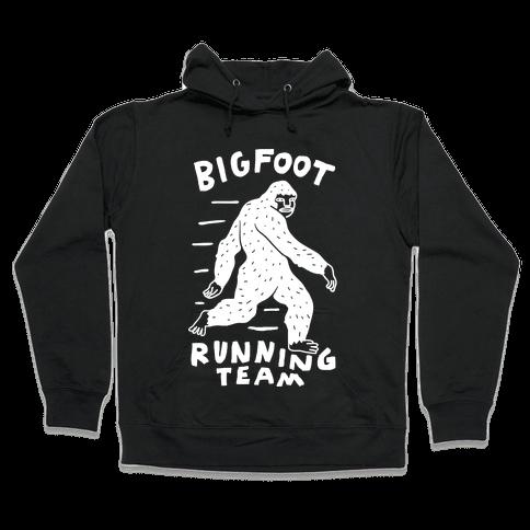 Bigfoot Running Team Hooded Sweatshirt
