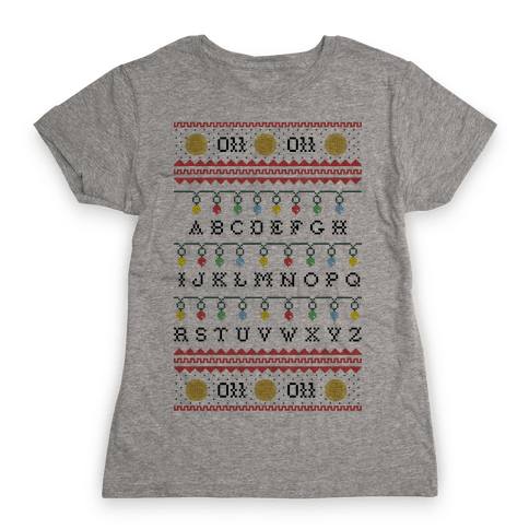 Eleven Ugly Sweater Womens T-Shirt
