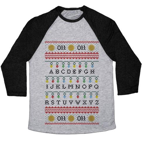 Eleven Ugly Sweater Baseball Tee