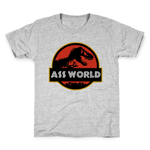 Ass world Kids T-Shirt