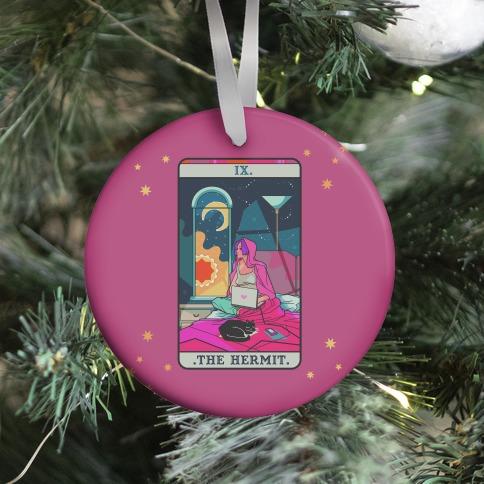 Hermit Tarot Card Ornament