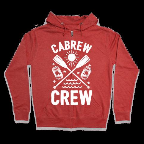 Cabrew Crew Zip Hoodie