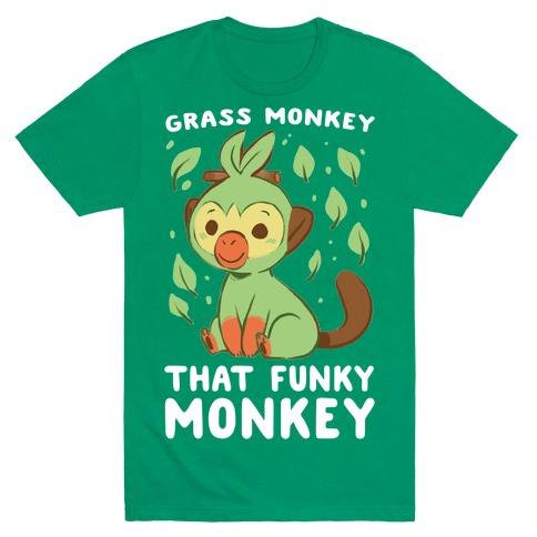 Grass Monkey, That Funky Monkey - Grookey T-Shirt
