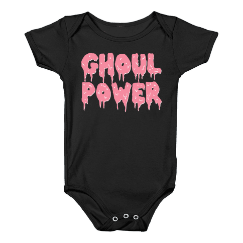 Ghoul Power Baby Onesy