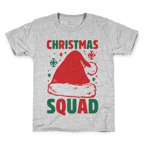 Christmas Squad Kids T-Shirt