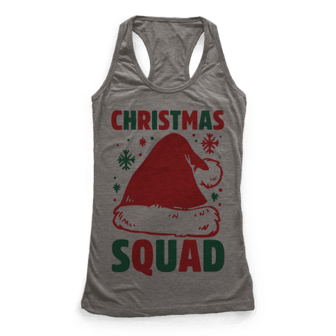 Christmas Squad Racerback Tank Top