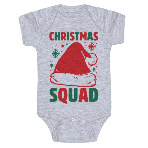 Christmas Squad Baby Onesy