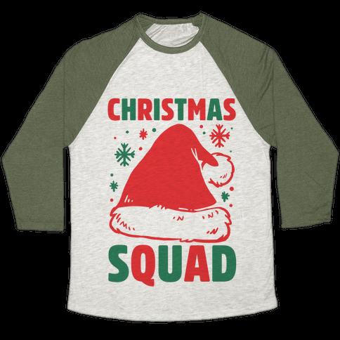 Christmas Squad Baseball Tee