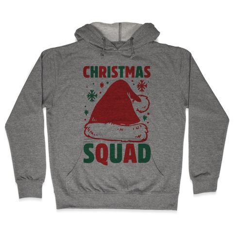 Christmas Squad Hooded Sweatshirt