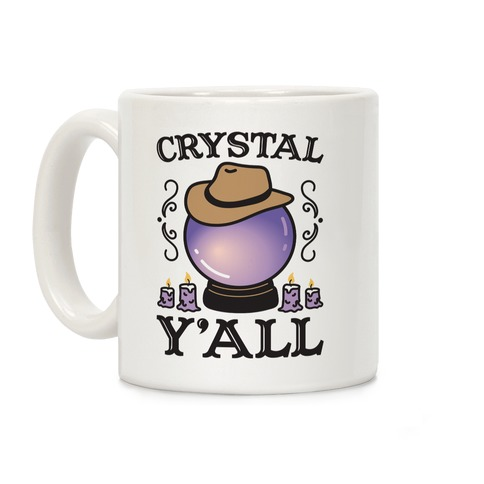 Crystal Y'all Coffee Mug