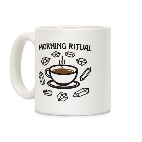 Morning Ritual Coffee and Crystals Coffee Mug