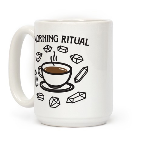 Morning Ritual Coffee and Crystals Coffee Mug