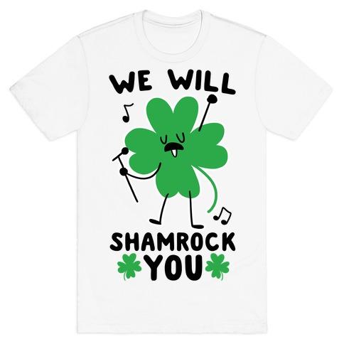 bb9a63606c36 Shamrock T-Shirts | LookHUMAN