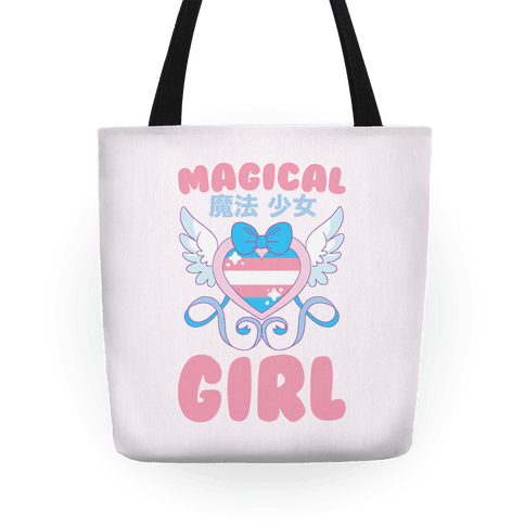 Magical Girl - Trans Pride Tote