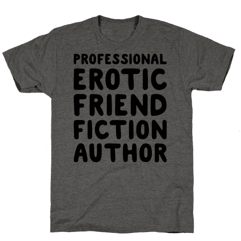 Professional Erotic Friend Fiction Author