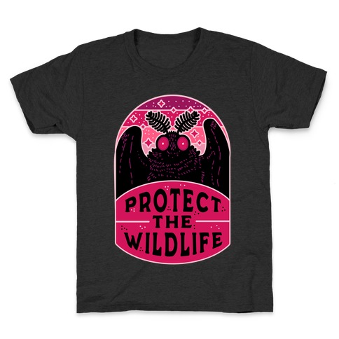 Protect the Wildlife (Mothman) Kids T-Shirt