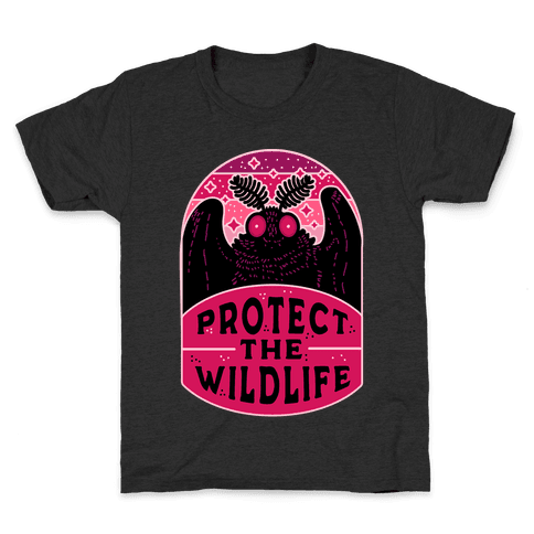 Protect the Wildlife (Mothman) Kids T-Shirt