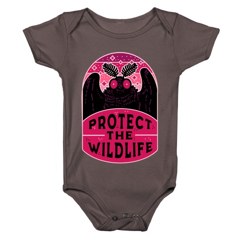 Protect the Wildlife (Mothman) Baby One-Piece